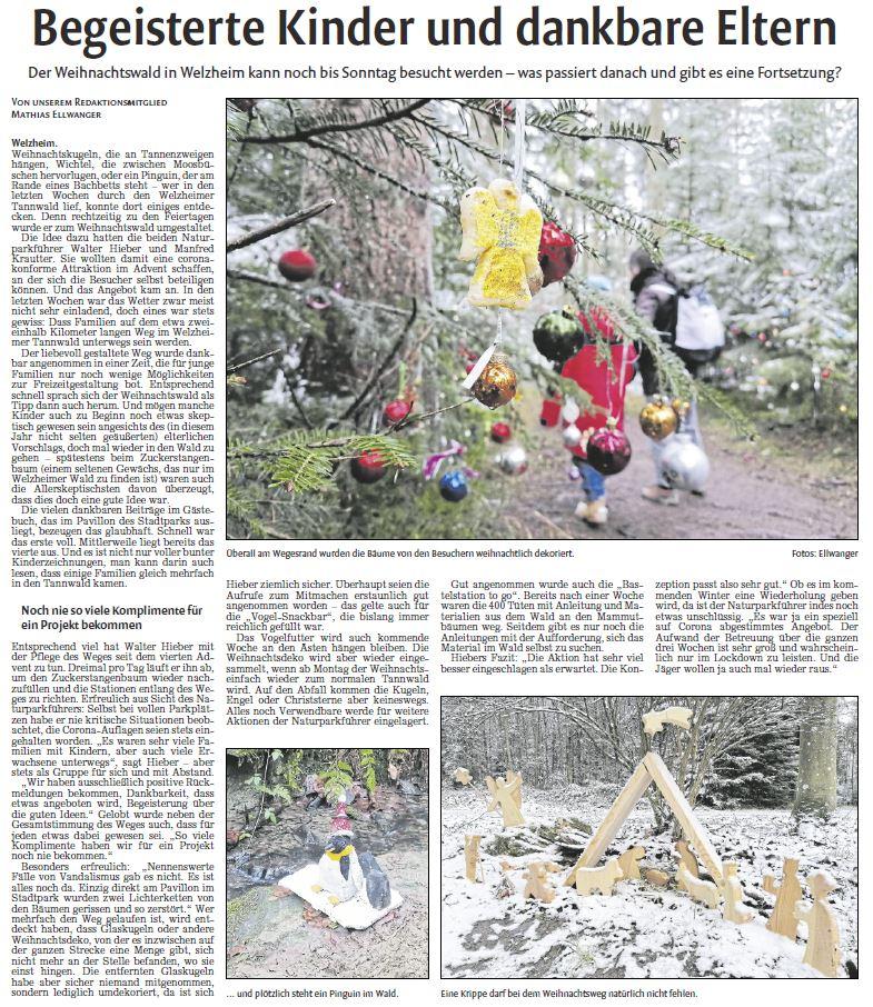 Begeisterte Kinder und dankbare Eltern - Naturparkführer Schwäbisch-Fränkischer Wald e.V.