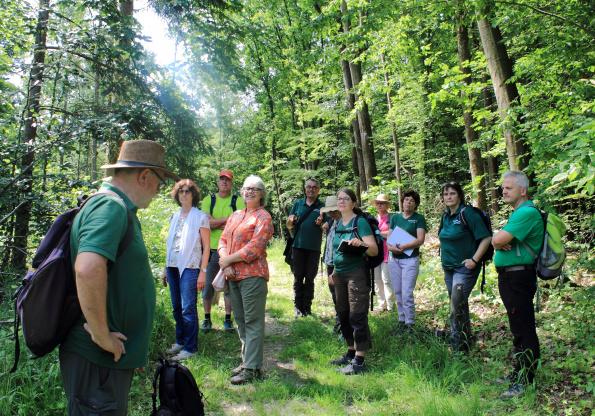 Fortbildung der Naturparkführer: Blick in die Zukunft - Naturparkführer Schwäbisch-Fränkischer Wald e.V.